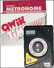 Qwik Time Quartz Metronome - Sheet Music Plus
