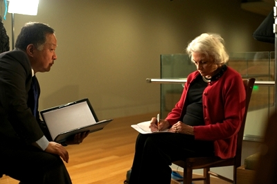 Director Ty Kim with US Supreme Court Justice Sandra Day O'Connor