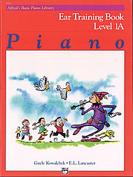 Alfred's Basic Piano Library - Ear Training Book