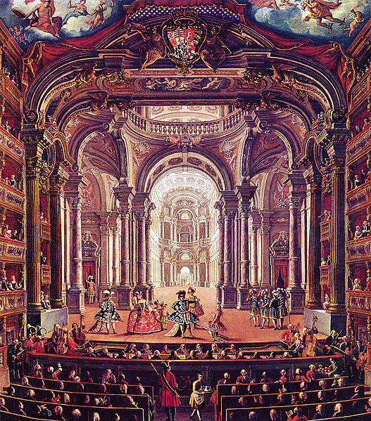The royal theater in turin for What is the baroque period