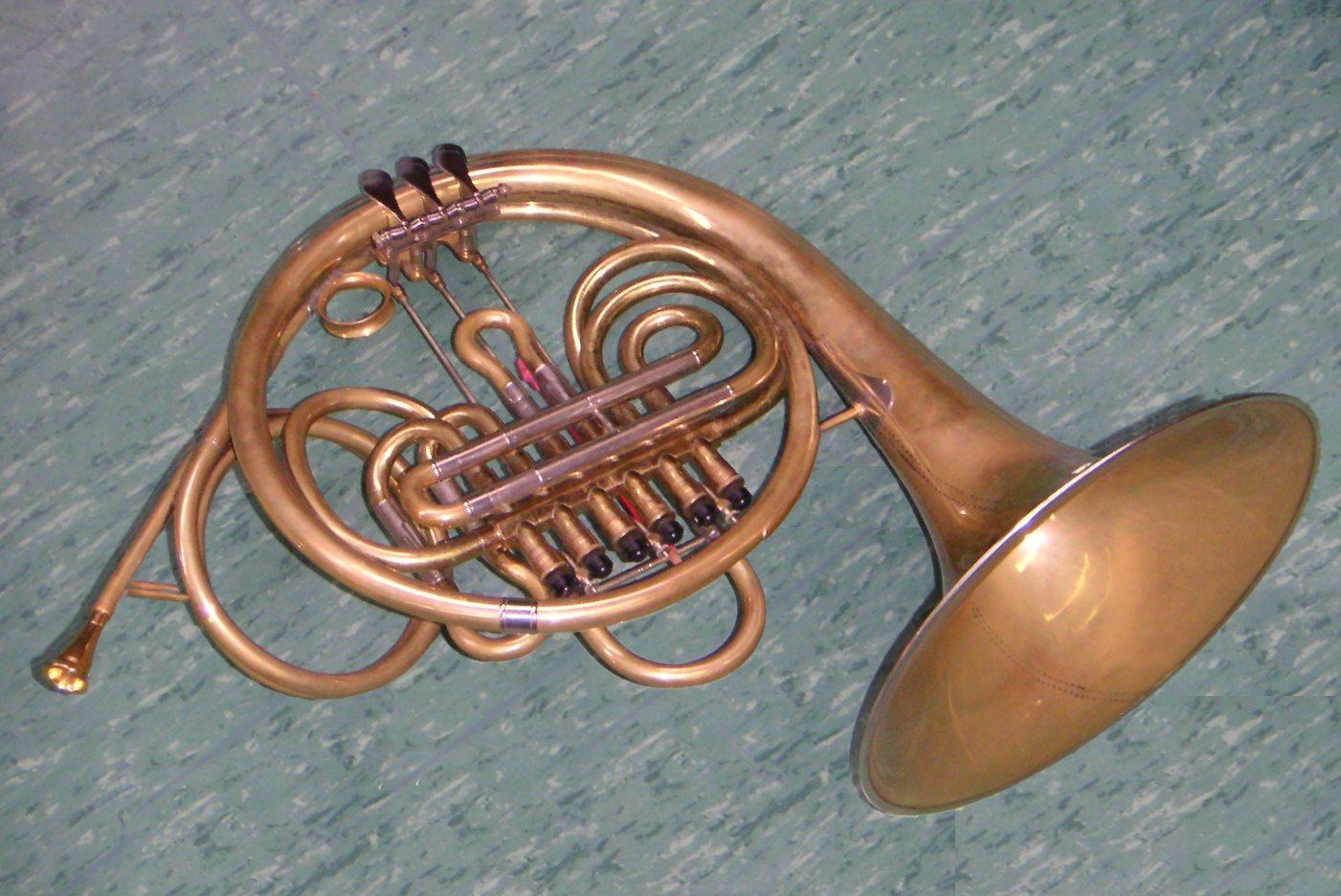 Viennese Horn on Rotary Valve Trumpet
