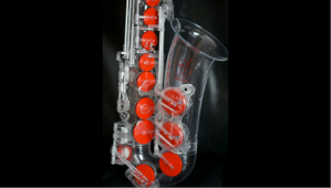 Polycarbonate saxophone