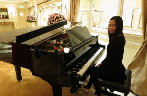 Composer, arranger and pianist Miranda Wong
