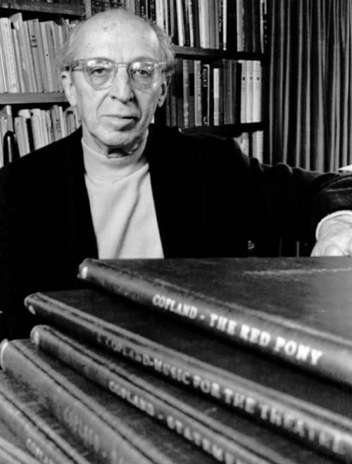 Aaron Copland in 1970