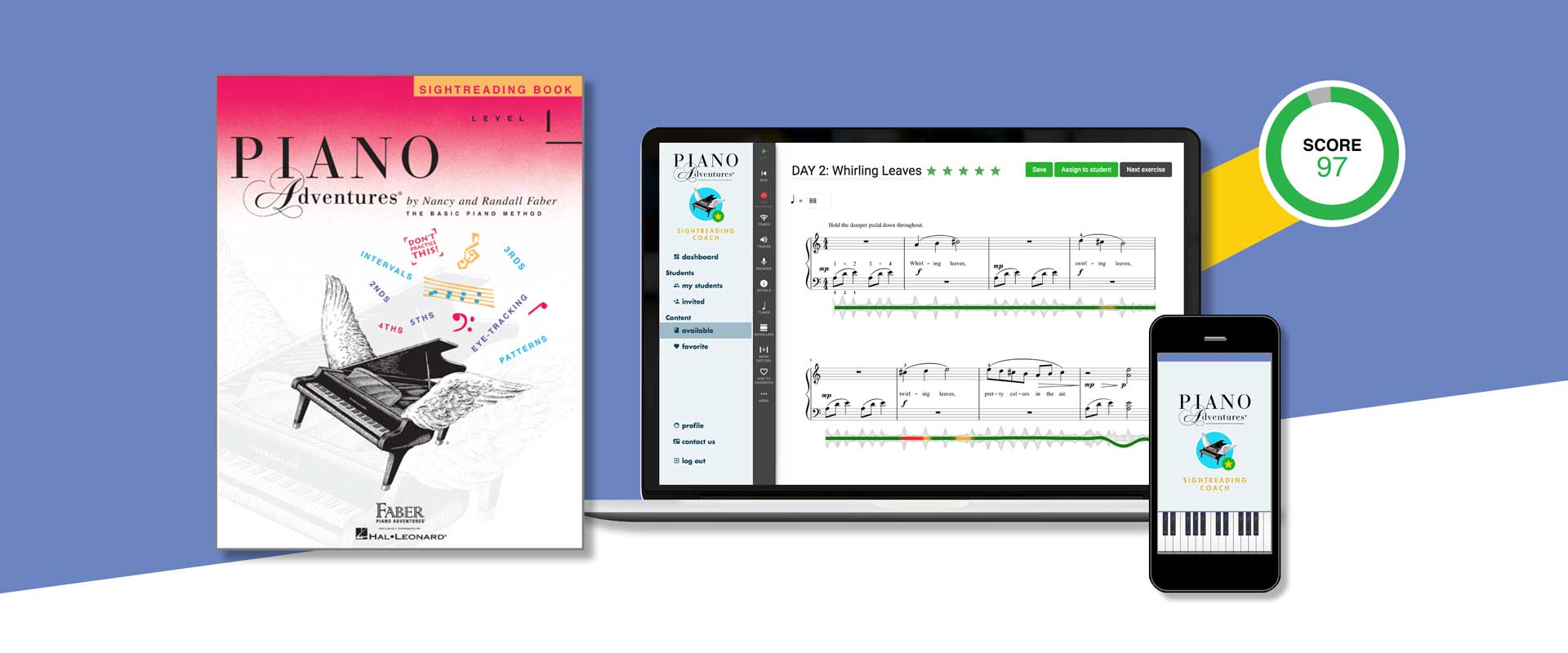 PianoAdventureSightreadingCoach